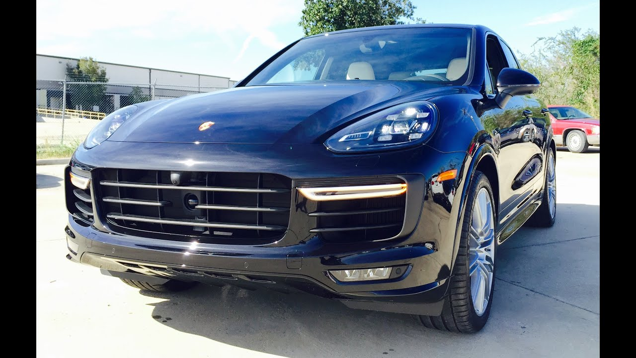 520hp 2016 porsche cayenne turbo full review exhaust start up youtube