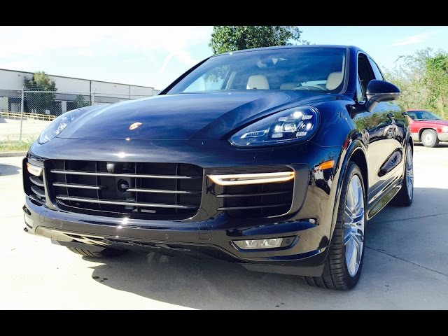 520hp 2016 Porsche Cayenne Turbo Full Review Exhaust Start Up You