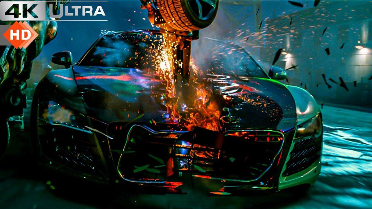 Download Transformers 2 Revenge Of The Fallen - Optimus Prime Entry Scene 4k