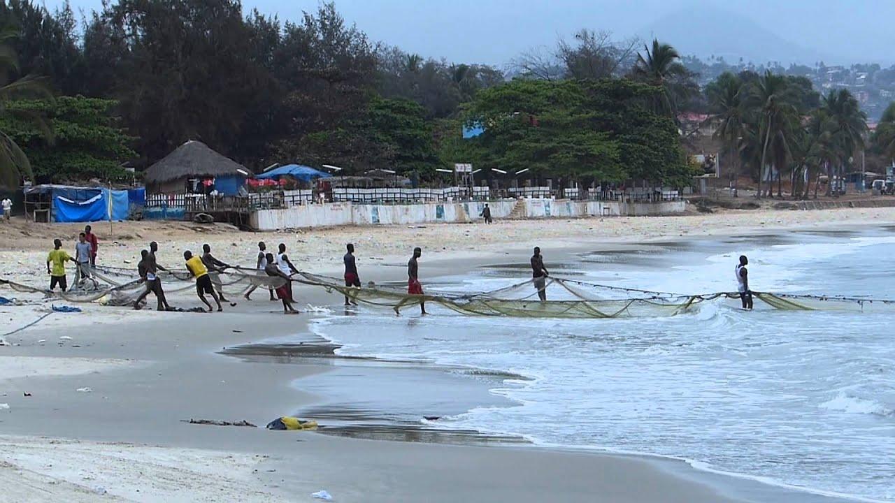 Lumley Beach Tuesday Freetown Sierra Leone 2