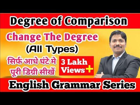 Change The Degree | English Grammar Series | Dinesh Sir