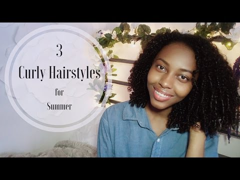 Curly Hairstyles for Summer | YVONNI