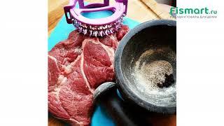 Покупки для кухни   Кухонные аксессуары: обзор Тендерайзер для отбивания мяса Fissman 11 см 8629