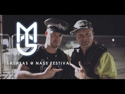 SASASAS B2B Azza & Grima @ Nass Festival 2017 - [DNB VLOG] - MGTV