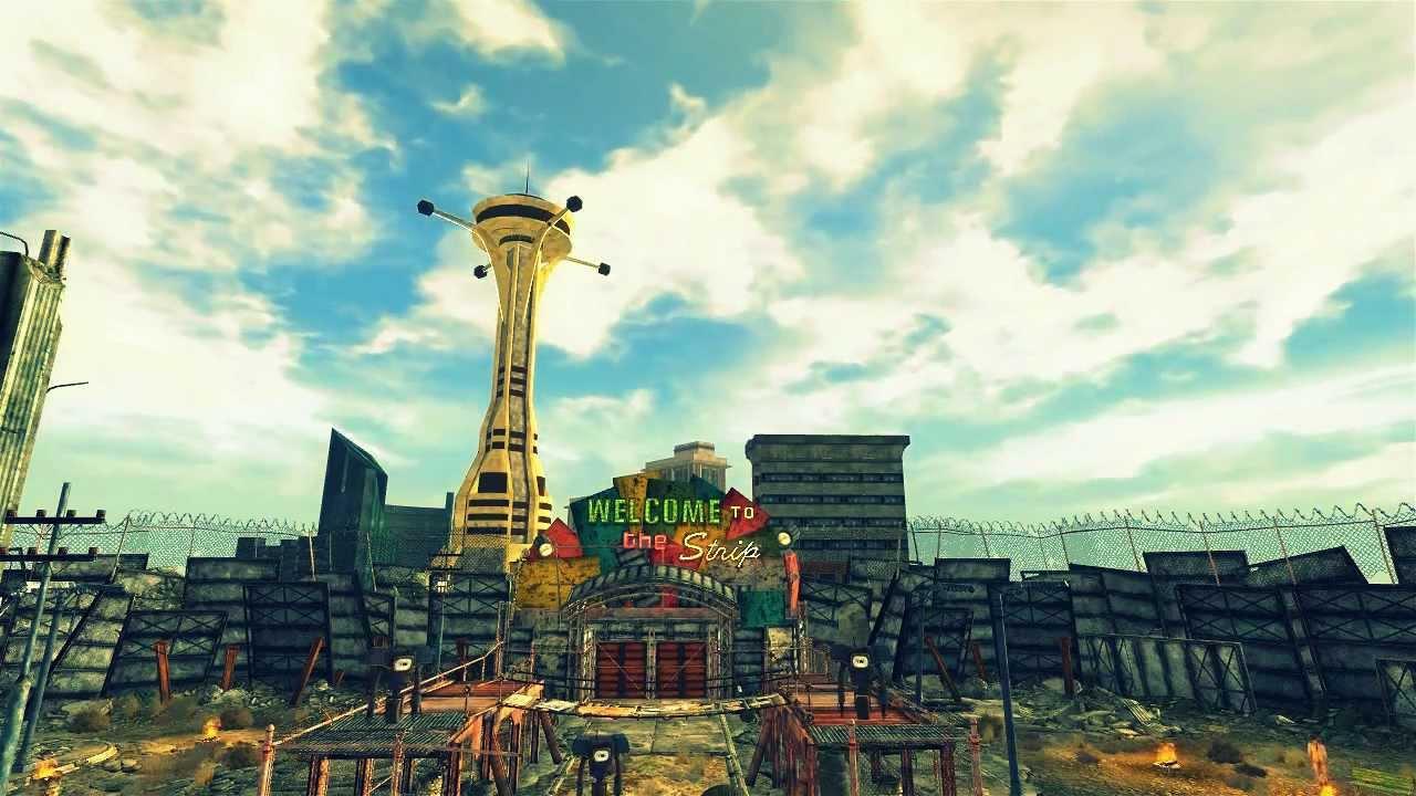 Fallout New Vegas Mod Nevada Skies Timelapse Youtube