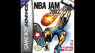 NBA Jam 2002 Gameboy Advance gameplay