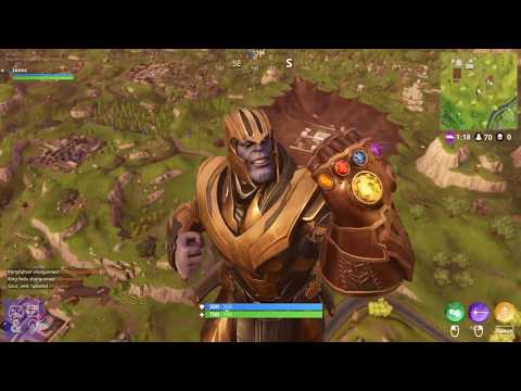 Here S Why Epic Games Made Thanos Less Powerful In Fortnite After