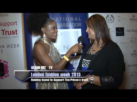 KLASH Entertainment TV  host Chanise Thompson @ the London Fashion Week