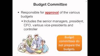 Ch. 37 - The Budgeting Process