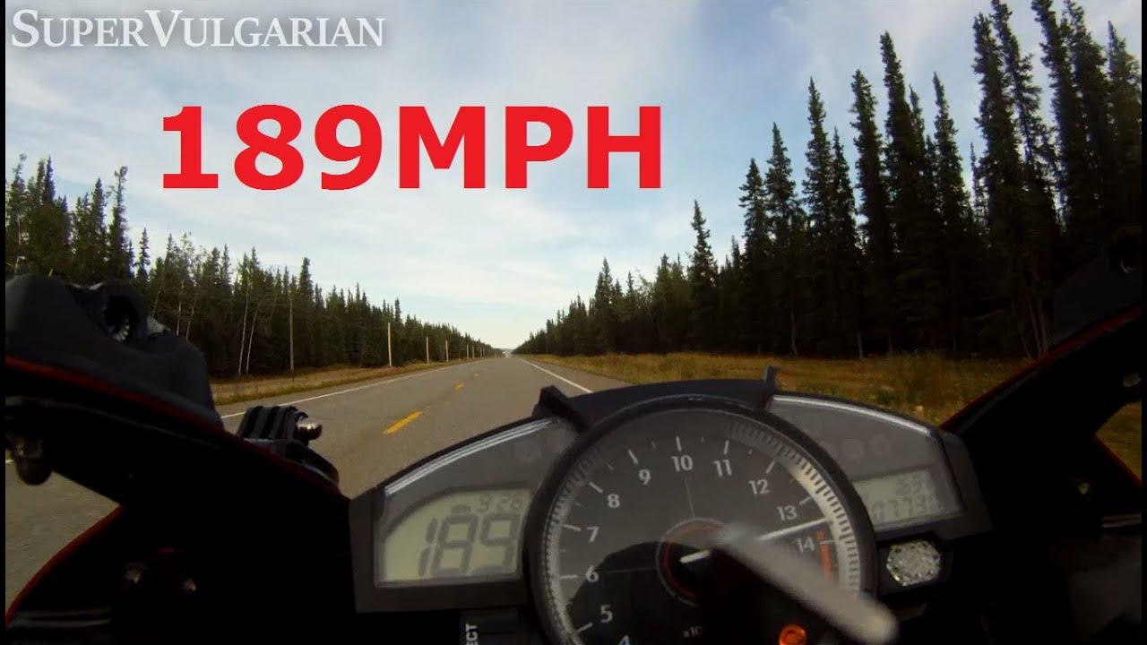 POWER: '07 Yamaha R1 Top Speed [189+mph] - YouTube