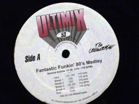 Fantastic Funkin' 80's medley - (ultimix 53)