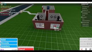 Welcome to BloxBurg!    ROBLOX Speed-build: A library/lounge.