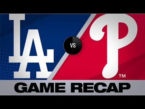 Harper's walk-off caps wild Phillies win | Dodgers-Phillies Game Highlights 7/16/19