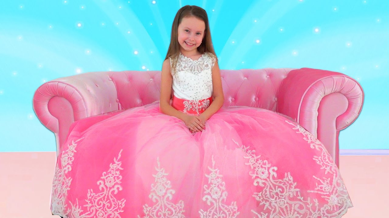 Alice Dress Up For The Princess Ball- Cool DIY IDEAS how to makes a dress