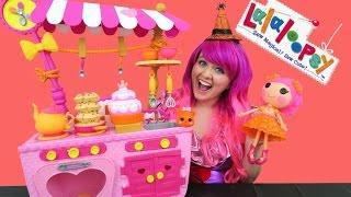 Lalaloopsy Magic Kitchen + Princess Sugar Fruit Drops Doll | TOY REVIEW | KiMMi THE CLOWN
