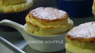 Cheese Souffle Recipe  Bruno Albouze  THE REAL DEAL