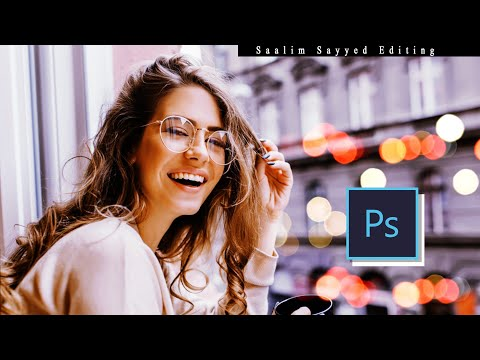 Brown & Gray tone photoshop tutorial | Eitzpixss Creations | Saalim Sayyed thumbnail