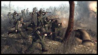 Epic Hacksaw Ridge Assault - Battle of Okinawa | Men of War Assault Squad 2 Mod Gameplay