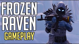 *NEW SKIN* - FROZEN RAVEN - FORTNITE Battle Royale [No Commentary Gameplay]