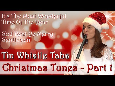 TIN WHISTLE TUNES AND TABS - Christmas Songs - Part 1