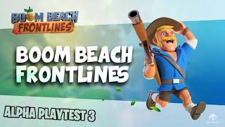 Boom Beach Frontlines Alpha Playtest 3