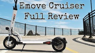 best long range commuter electric scooter emove cruiser comprehensive hands on review