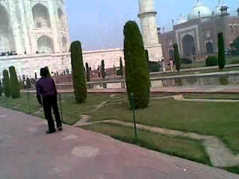 A visit of Taj Mahal with my brother nd frnds