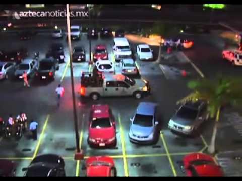 Balacera en plaza comercial de Cancún