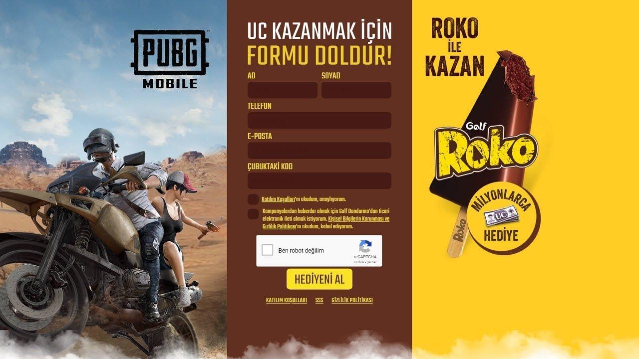 rokoilekazan.com PUBG Mobile UC kodu kullanma, Roko ile kazan PUBG Mobile UC kodu nasıl kullanılır?