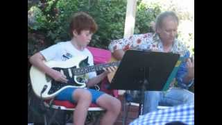 "Ciaran and Dearin play Recycled Blues @ the  2012 ""Slow Point"" Christmas concert 025.AVI"