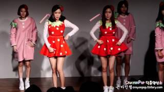 141203 딸기우유(Strawberry Milk) Feel So Good 1st 팬미팅 직캠 by 욘바인첼