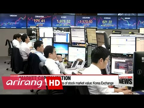 S. Korea's stock market capitalization ranks 14th in world