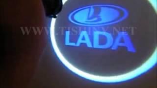 Подсветка Lada при открывании дверей