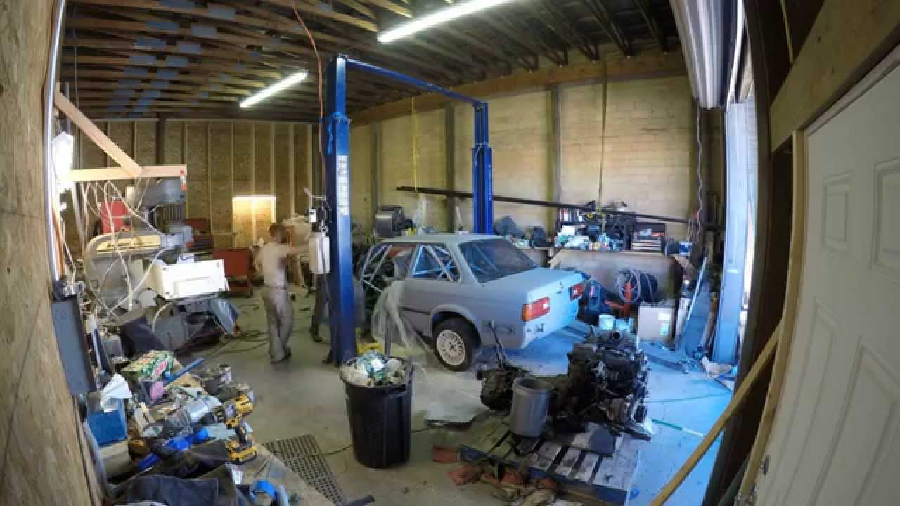 how to build a rally car from scratch
