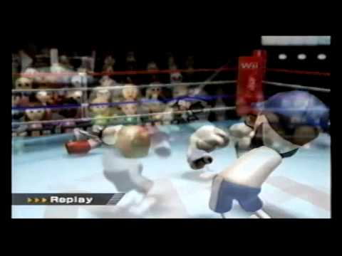 Wii Sports Boxing Fast KO @ Level 3124