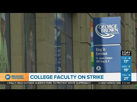 Faculty at 24 Ontario colleges on strike