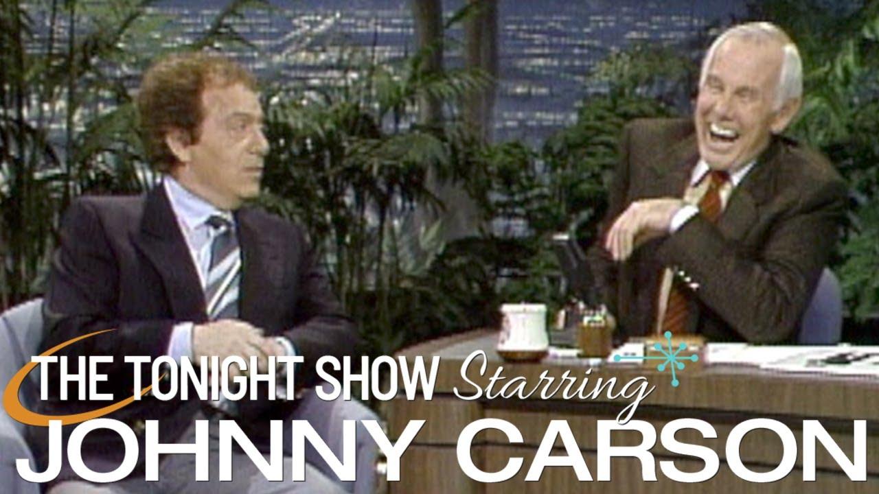 Jackie Mason Holds Nothing Back | Carson Tonight Show