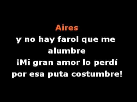 Video karaoke - Cacho de Buenos Aires