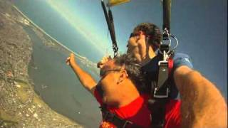 Chilean Miner Franklin Lobos jumps with Skydive the Beach and Beyond Sydney-Wollongong!