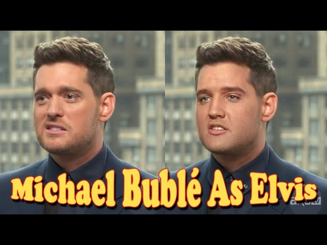 Quick Michael Bublé Elvis Presley Impression - Deepfake