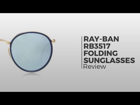 Ray-Ban RB3517 Round Folding Sunglasses Review | SmartBuyGlasses