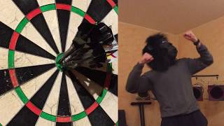 Hit 12 Darts in inner and outer Bullseye in a row?