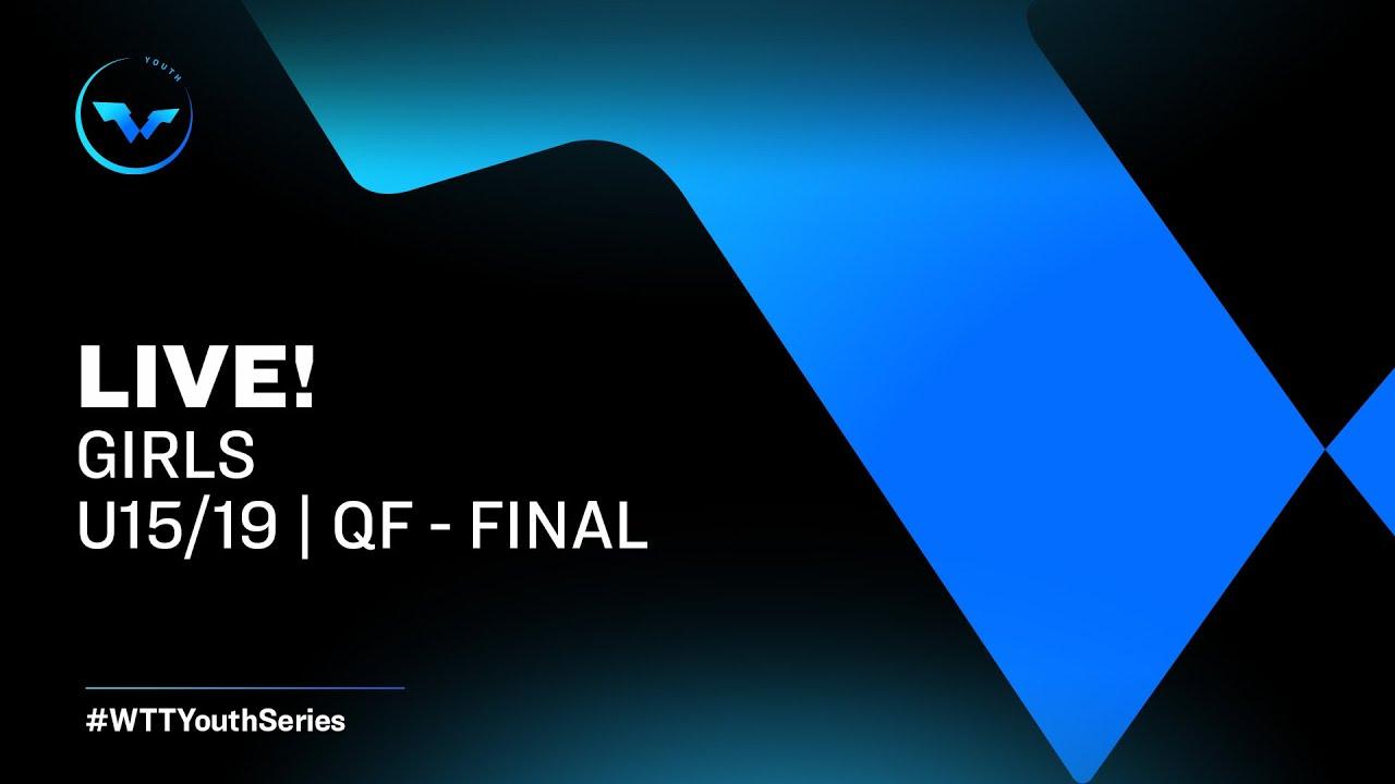 Download WTT Youth Contender Otočec (Girls) - Day 3   U15/19 Finals