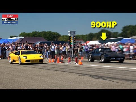 900HP Chevrolet Corvette Stingray C3 - Drag Racing!