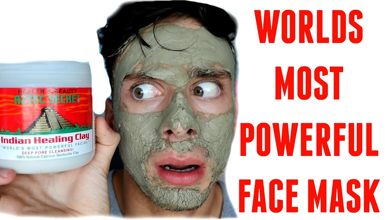 WORLDS MOST POWERFUL FACE MASK !!! (PRODUCT TEST)
