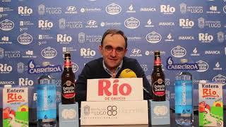 Video Hugo López rueda de prensa posterior al Leche Río Breogán Clínica Sur Aspasia RVB