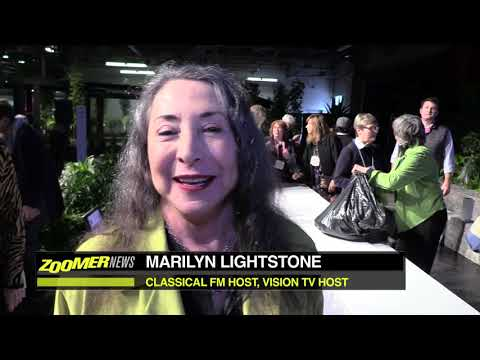 Marilyn Lightstone at Canada Blooms 2018