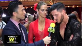 Dancing with the Stars - Elizabeth Berkley and Val Chmerkovskiy AfterBuzz TV September 23rd, 2013
