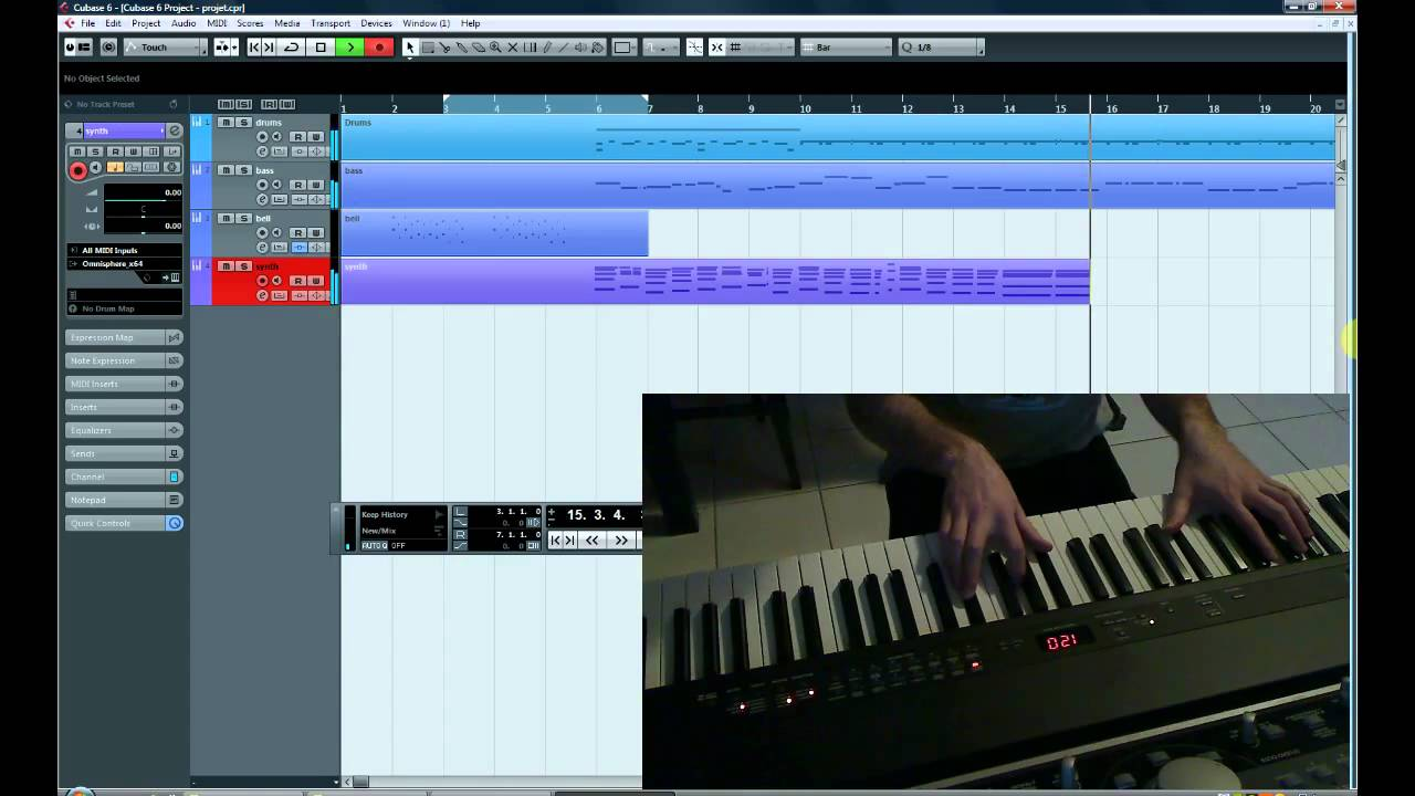 how to finish a song in cubase