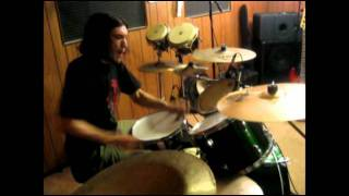 Drum cover of Divinations by Mastodon